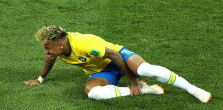 Brasile-Uruguay lite Neymar Cavani