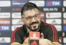 Milan Napoli conferenza Gattuso