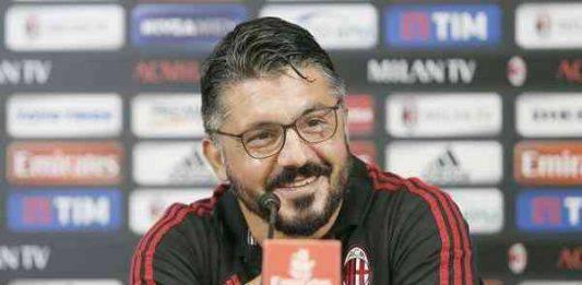 """Milan Empoli, Gattuso: """"Conquistati tre punti non scontati"""""""