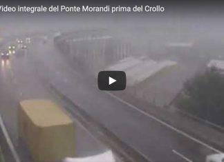 Ultimo Video Ponte MOrandi Genova prima del crollo