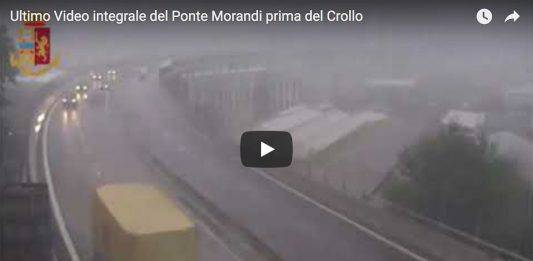 Ultimo Video Ponte Morandi Genova prima del Crollo – VIDEO