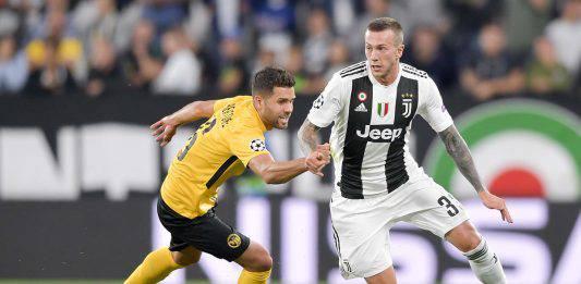 Juventus Chievo probabili formazioni: Bernardeschi dal 1′ mi