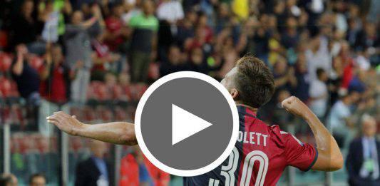 Coppa Italia Cagliari-Atalanta  |  highlights e tabellino del match