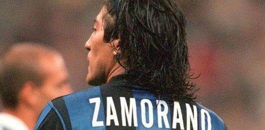 Inter Milan 1 0, l'ex Zamorano esulta in tribuna come un ult
