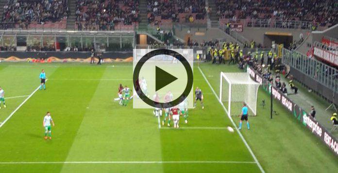 Milan-Dudelange pagelle highlights