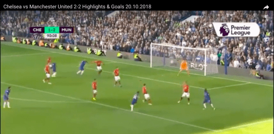 Highlights Premier League: Chelsea-Manchester U. 2-2, 100′ di spettacolo