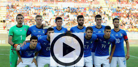 Highlights Under 21 Italia-Germania 0-0  Video Gol |  Pagelle e tabellino del match