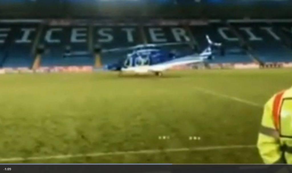 Elicottero Leicester
