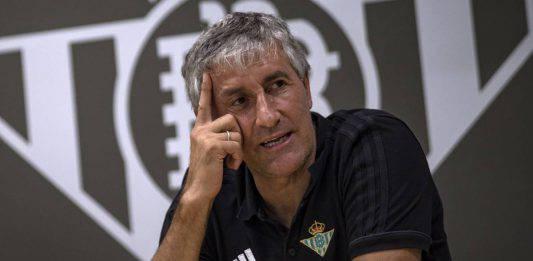 "Betis-Milan |  Setién |  ""Soddisfatti del pareggio  Ora siamo ottimisti"""