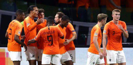 "Nations League, Van Djik abbraccia l'arbitro: ""ha perso la m"