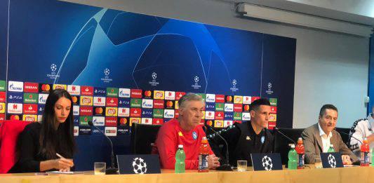 """Liverpool-Napoli, Ancelotti: """"Ora bisogna mettere la ciliegina sulla torta"""""""