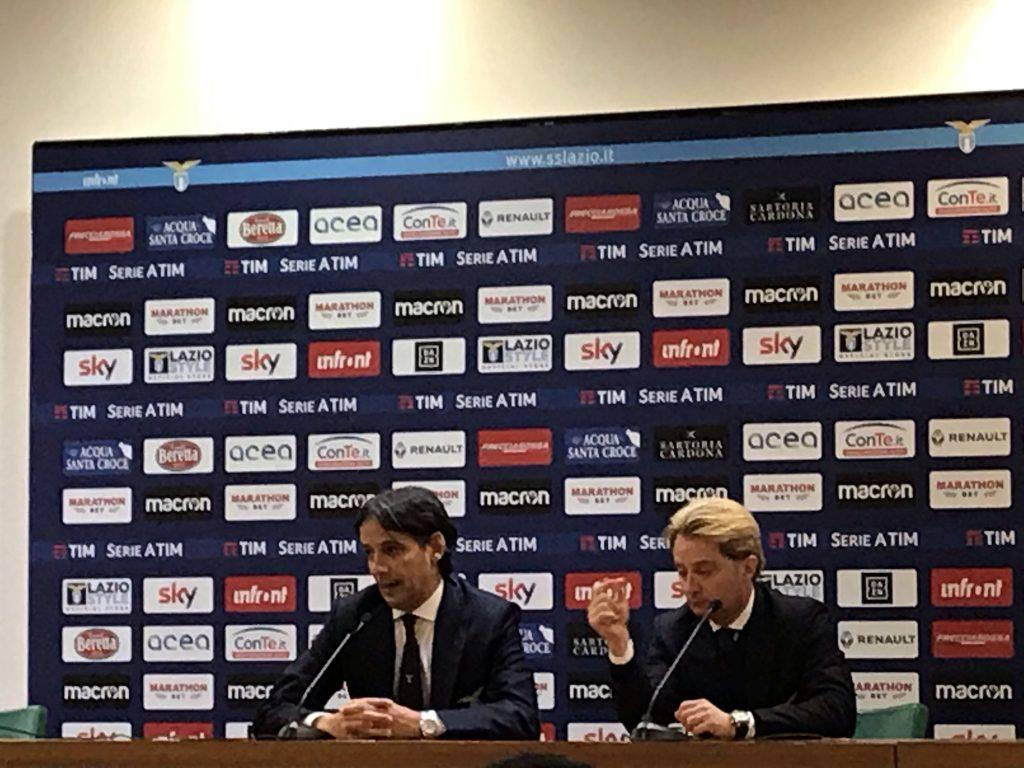 Lazio Novara conferenza Inzaghi