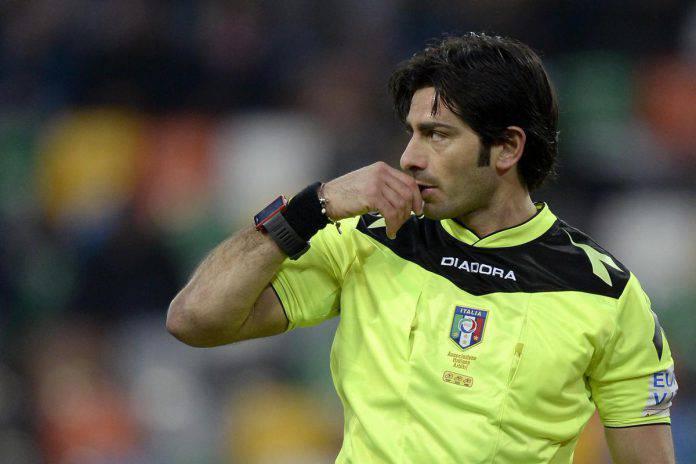 Arbitri Serie A 22 giornata