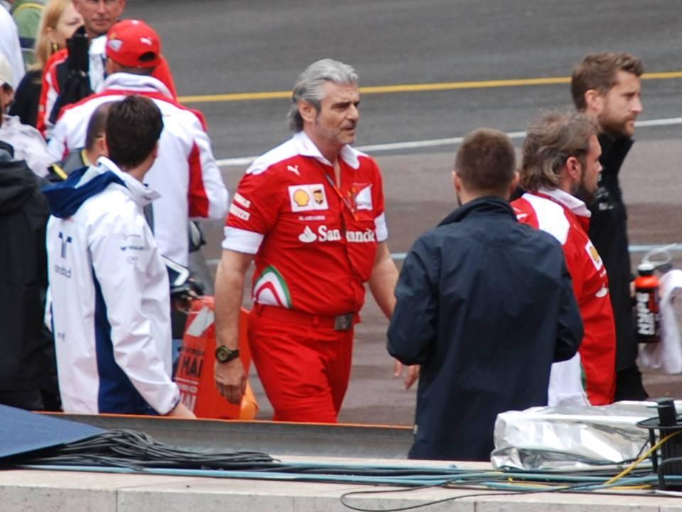 Via Arrivabene, Binotto al comando della Ferrari