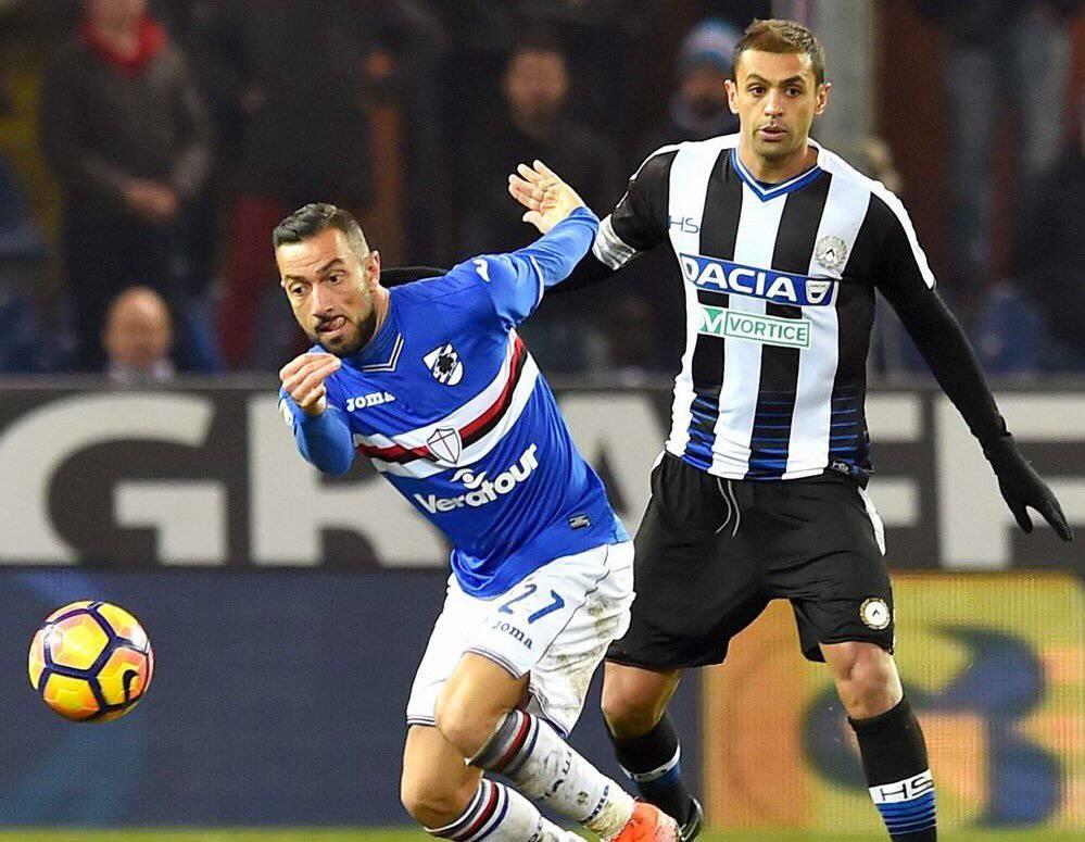 Sampdoria Udinese probabili formazioni