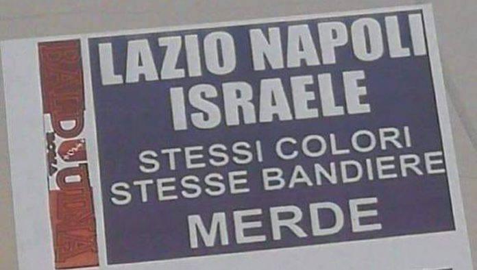 volantini antisemiti Malagò