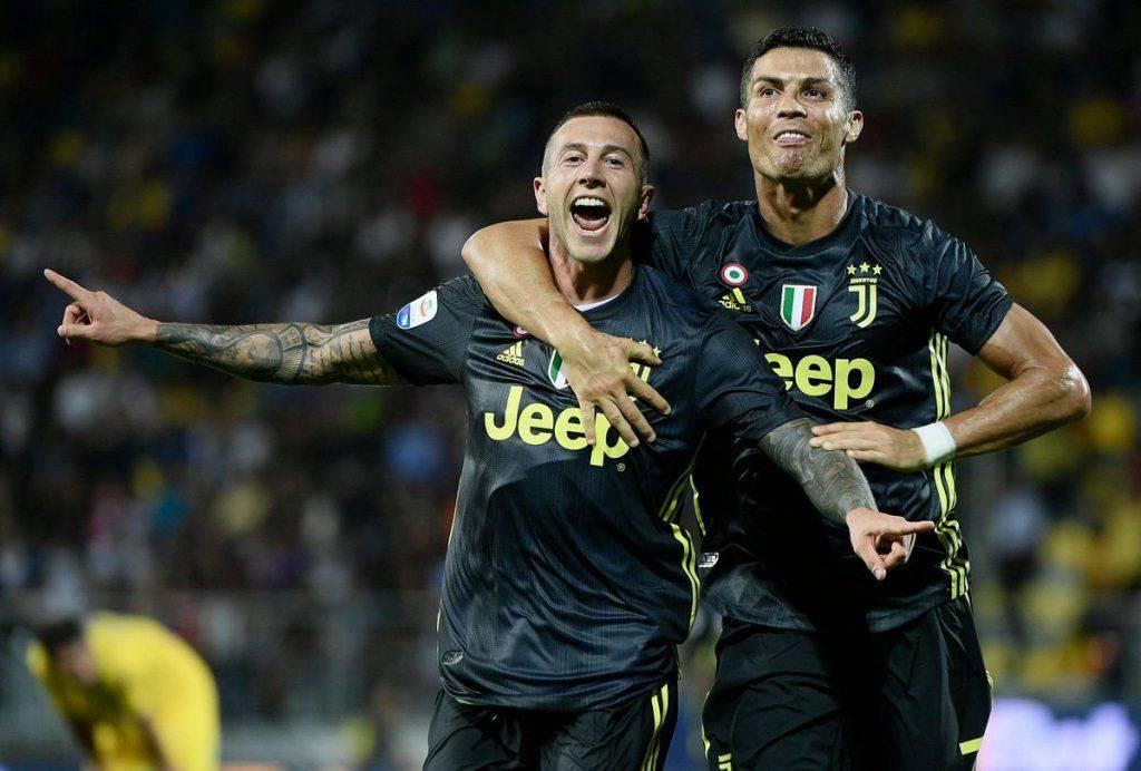 Juventus Frosinone probabili formazioni