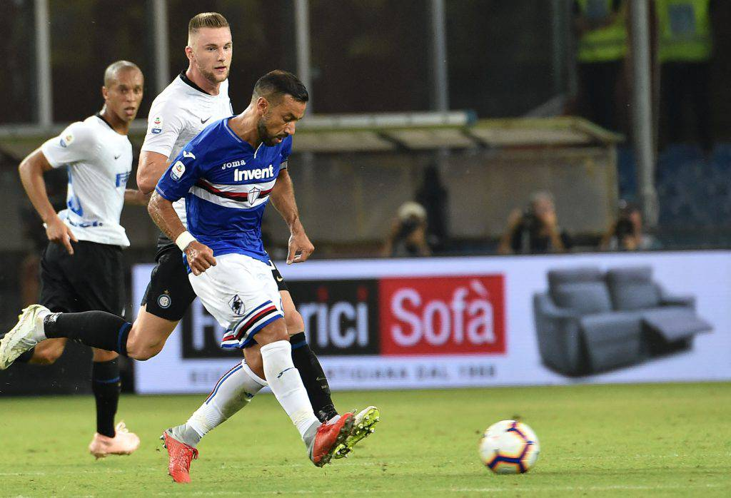 Pagelle Inter Sampdoria