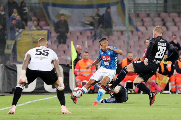 Pagelle Parma Napoli