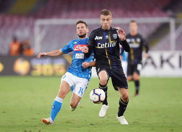 Parma Napoli probabili formazioni