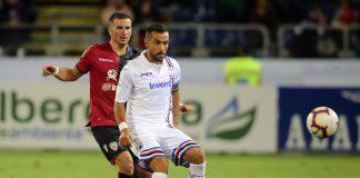 Sampdoria Cagliari probabili formazioni