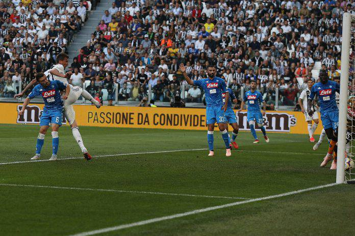 Napoli Juventus probabili formazioni