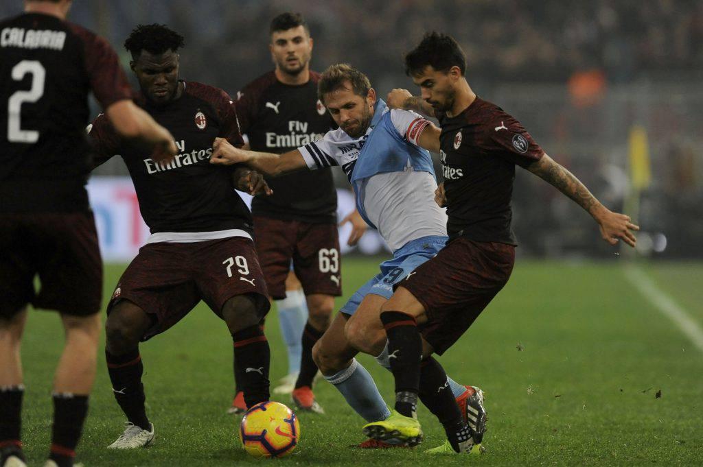 Lazio Milan formazioni ufficiali