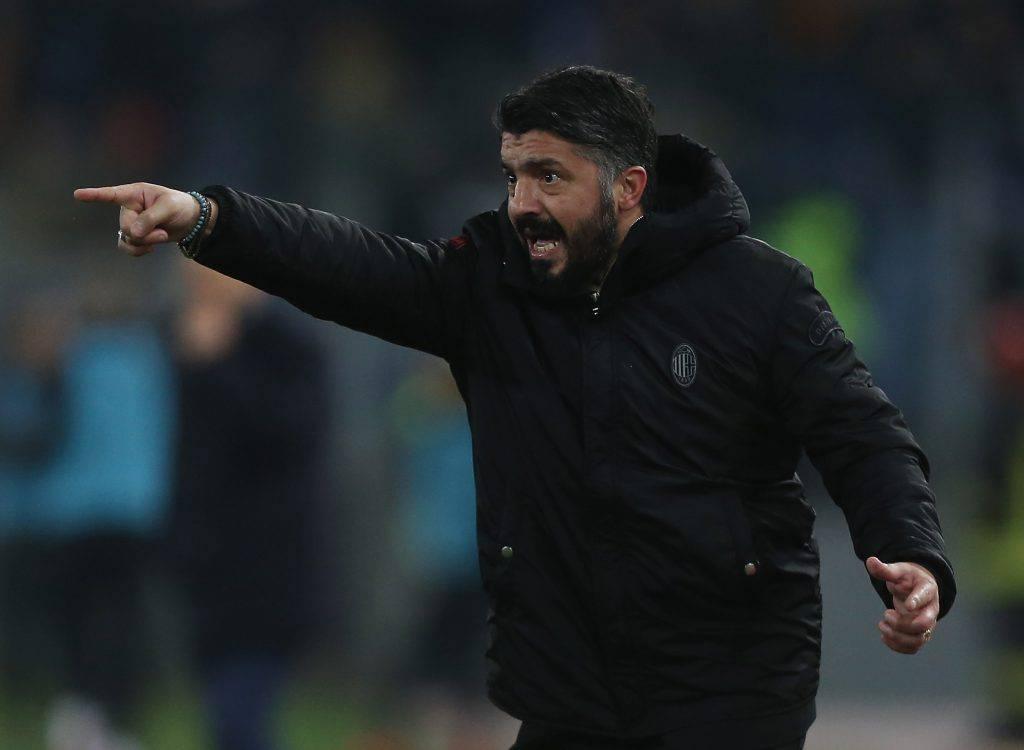 Lazio Milan Gattuso