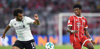 Liverpool Bayern statistiche