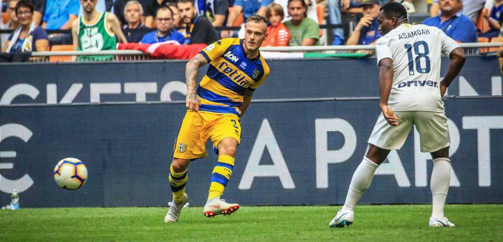 Parma Inter probabili formazioni