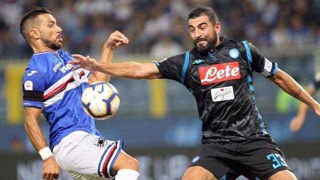 Pagelle Napoli Sampdoria