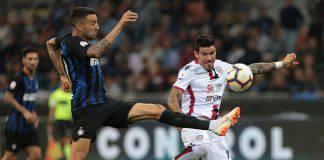 Cagliari Inter formazioni ufficiali