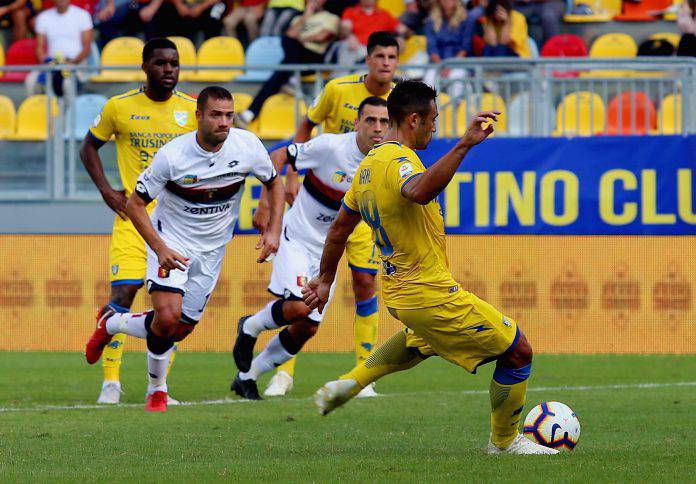 Pagelle Genoa Frosinone