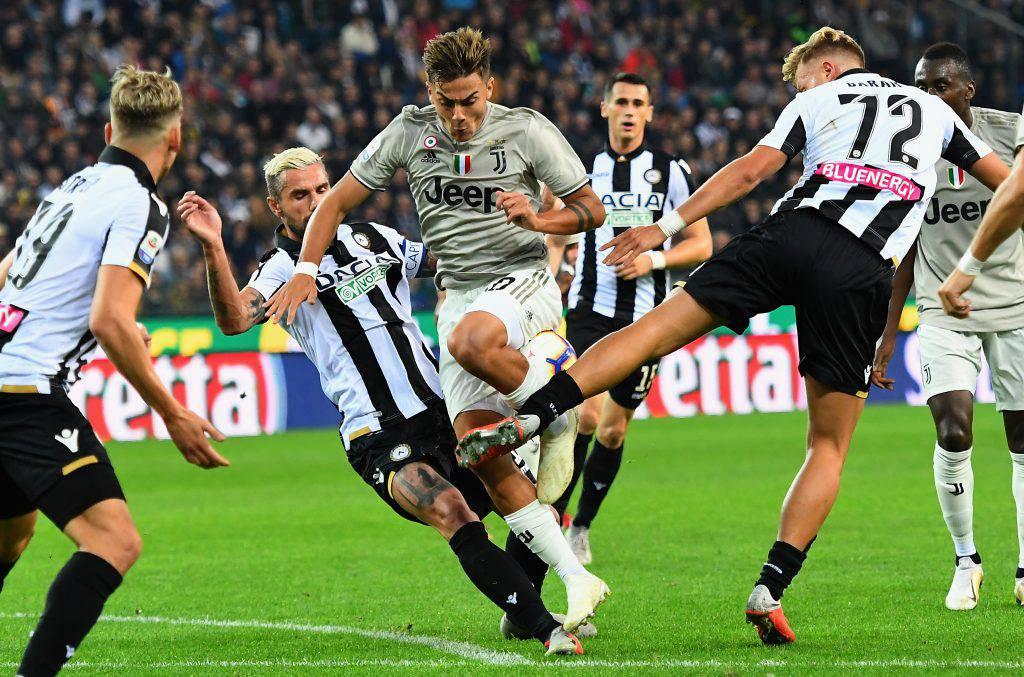 Juventus Udinese probabili formazioni