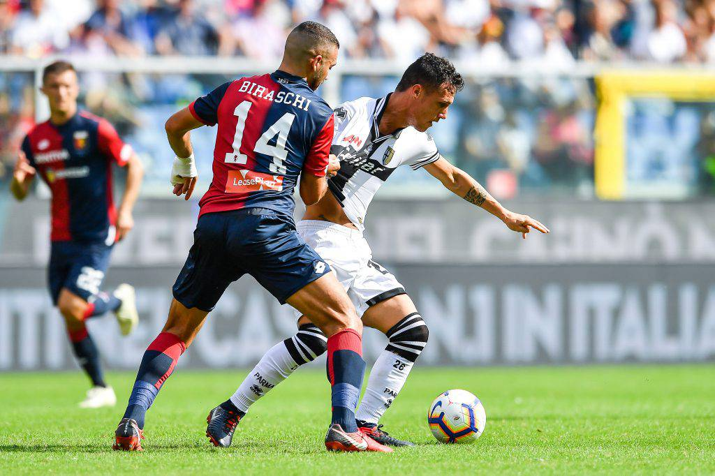 Pagelle Parma Genoa