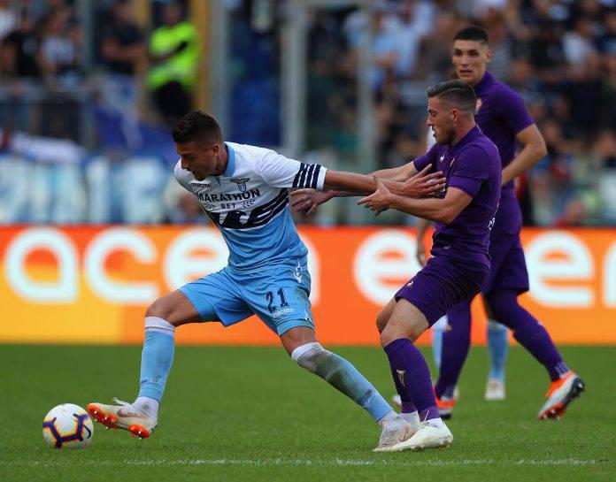 Fiorentina Lazio probabili formazioni