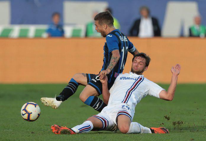 Sampdoria Atalanta probabili formazioni