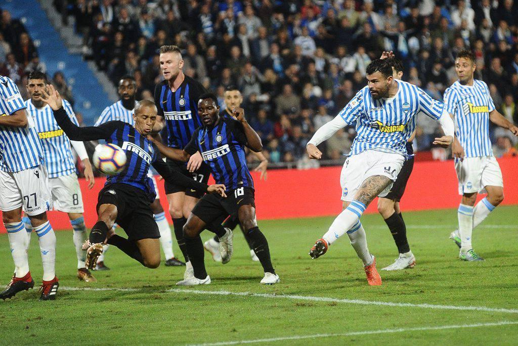 Pagelle Inter Spal