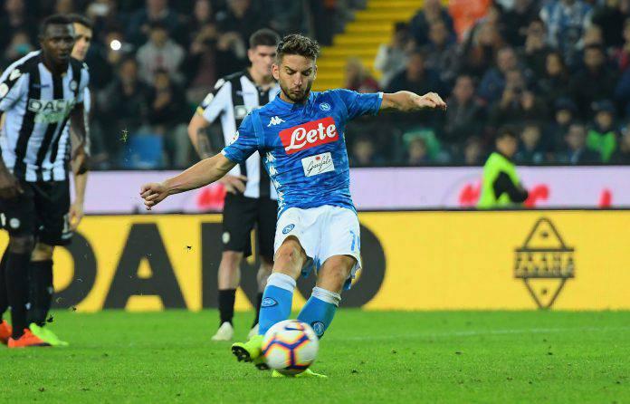 Napoli Udinese probabili formazioni