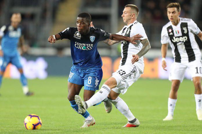 Juventus Empoli probabili formazioni