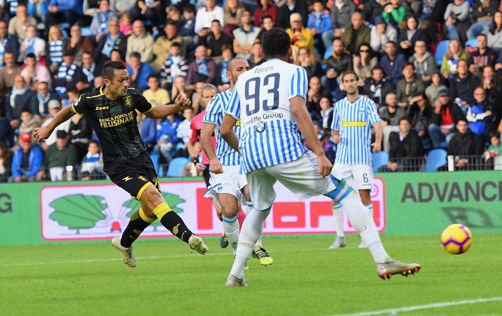 Pagelle Frosinone Spal
