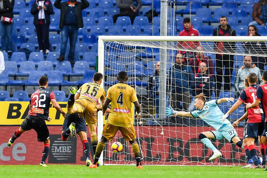 Udinese Genoa probabili formazioni