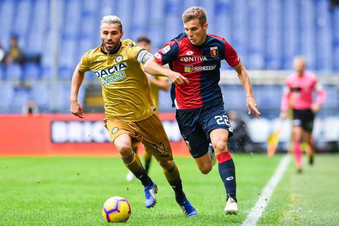 Pagelle Udinese Genoa