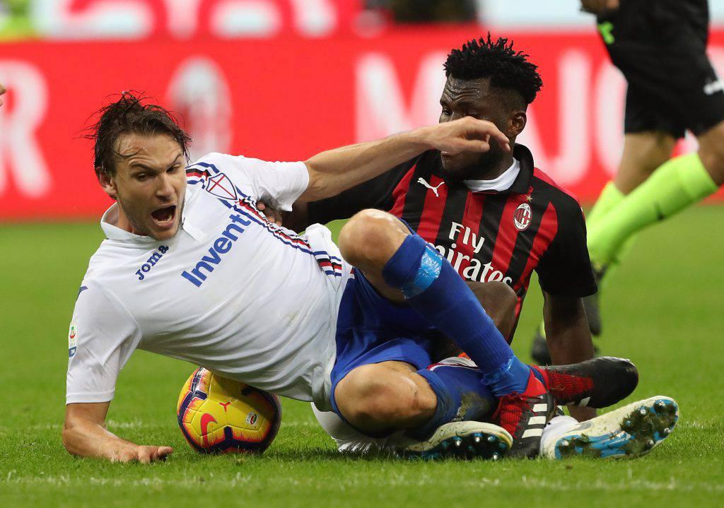 Pagelle Sampdoria Milan