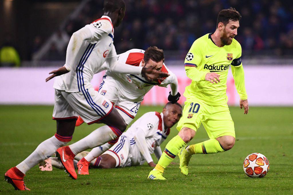 Barcellona Lione probabili formazioni