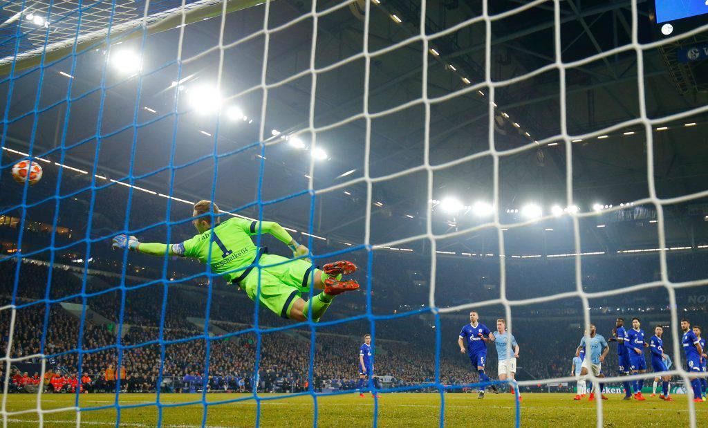 Manychester City Schalke 04 statische