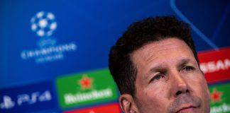 Juventus Atletico Madrid conferenza stampa Simeone