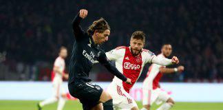Real Madrid Ajax Champions League