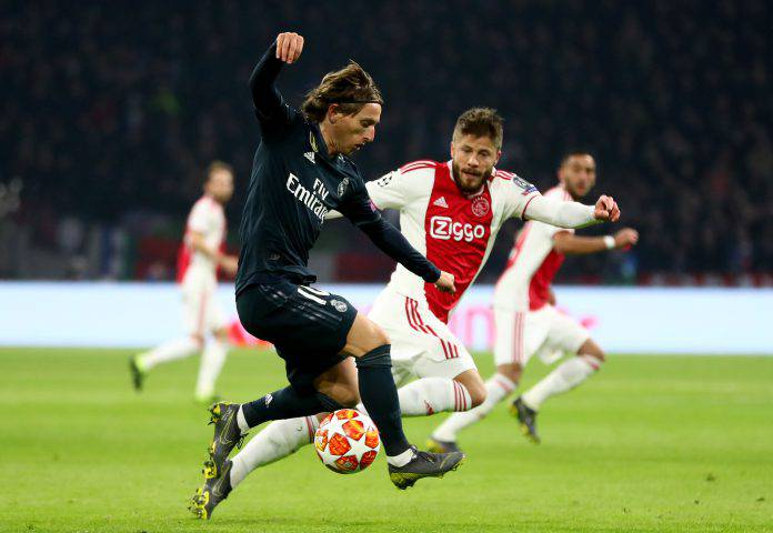 Real Madrid Ajax Champions League