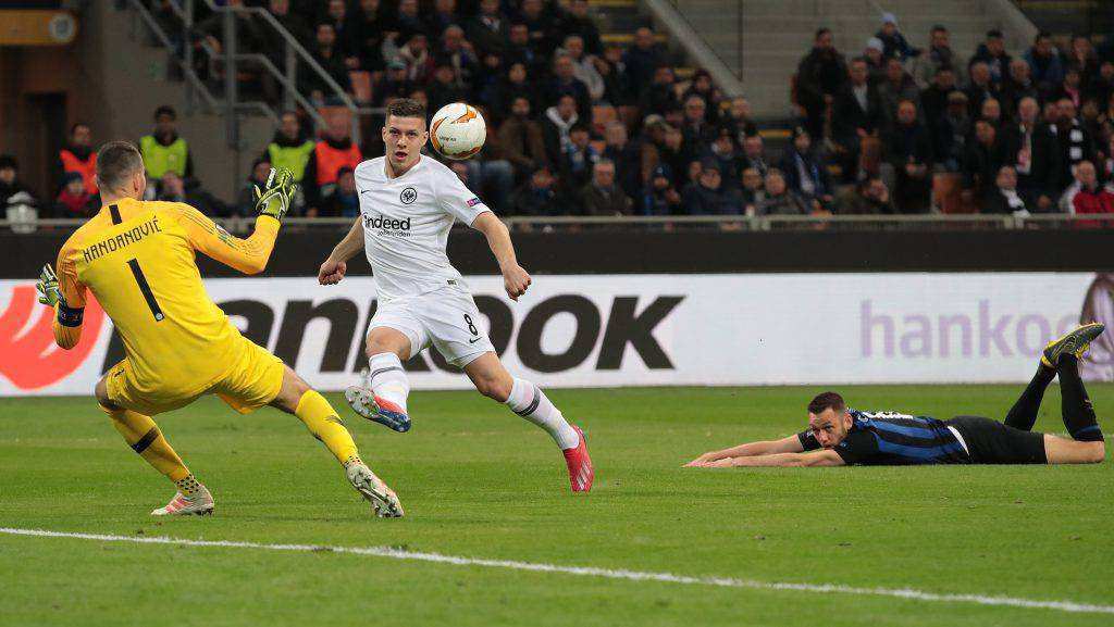 Highlights Inter Eintracht